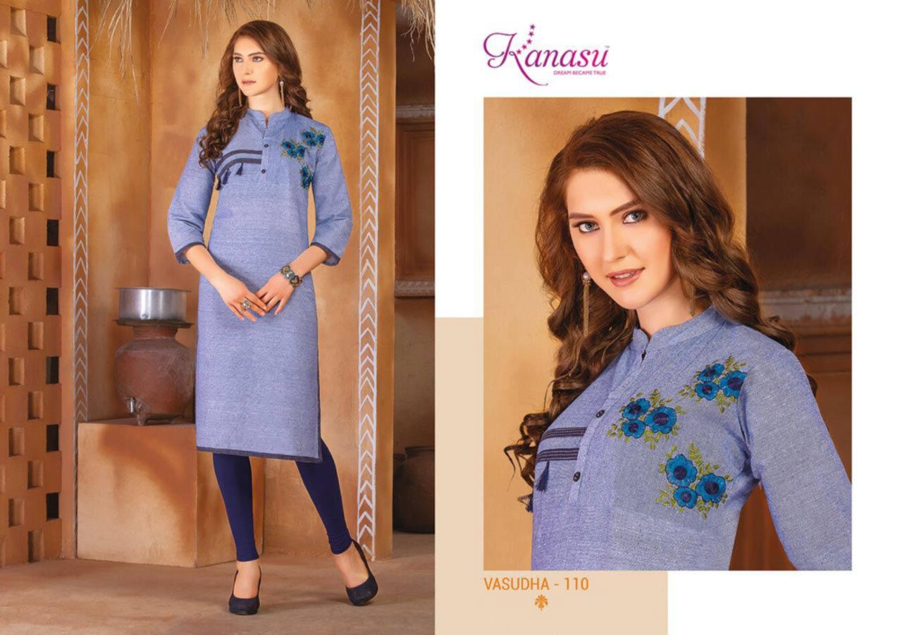 Vasudha Khadi Cotton Wholesale Kurti