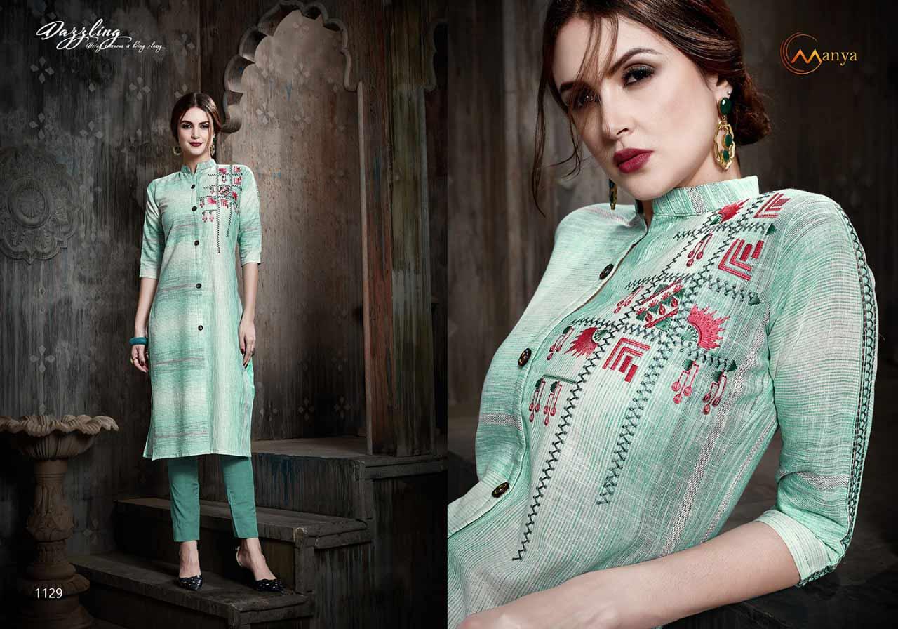Mansi Fashion Zoya Pant Style Kurti