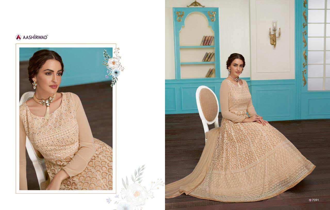 Aashirwad Anushka Stunning Look Salwar Suits
