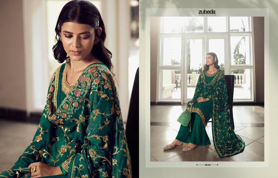Avani Chinon Salwar Suits Apparels Supplier