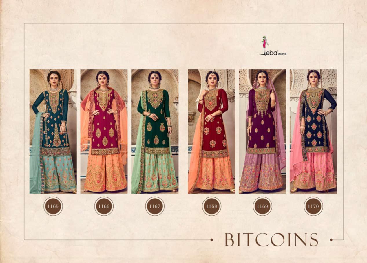 Bitcoins Georgette Salwar Kameez Catalog
