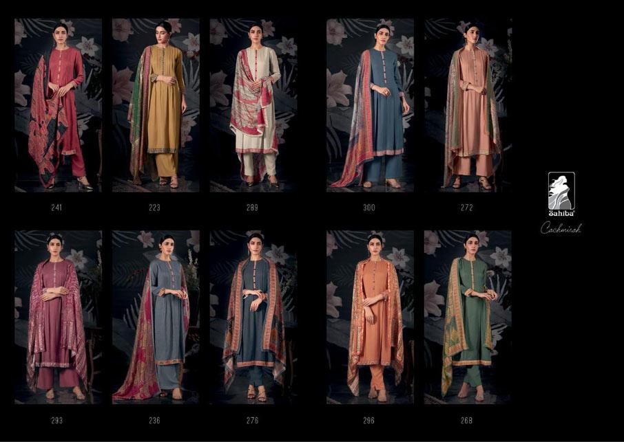 Cachmirah Cotton Satin Salwar Suits Apparels