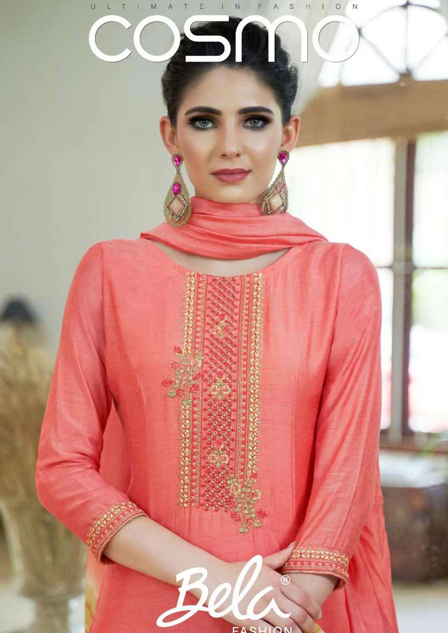 Bela Fashion Cosmo Cotton Silk Salwar Suit Collection