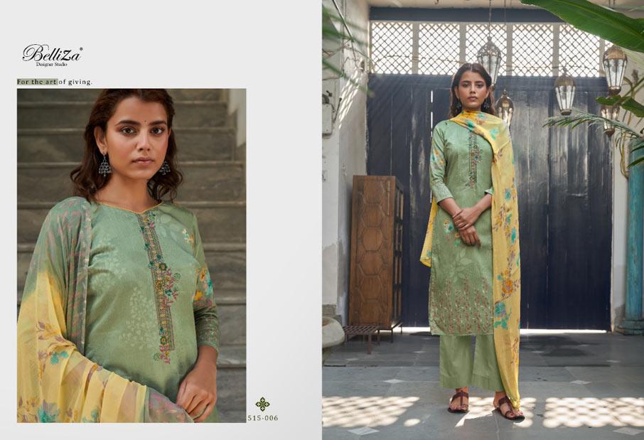 Ehsaas Nazeen Dupatta Dress Material Wholeseller
