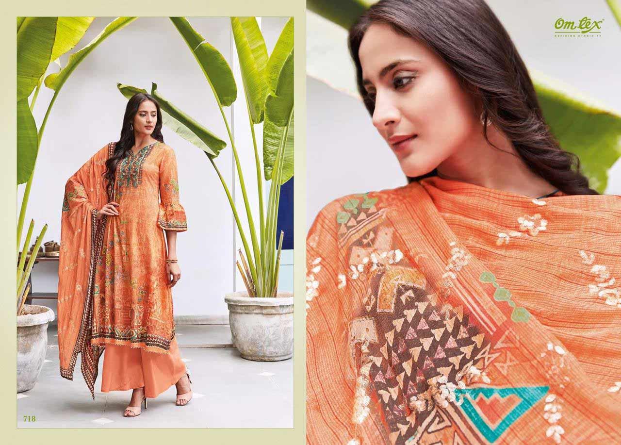 Omtex Elsa Digital Printed Cotton Salwar Kameez Collection