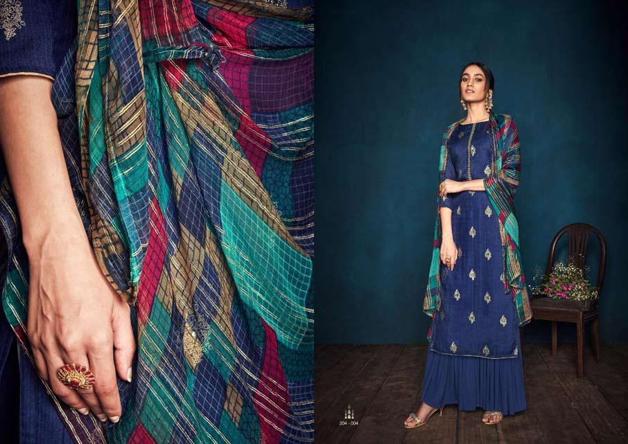 Florine Pashmina Salwar Suits Apparels Supplier