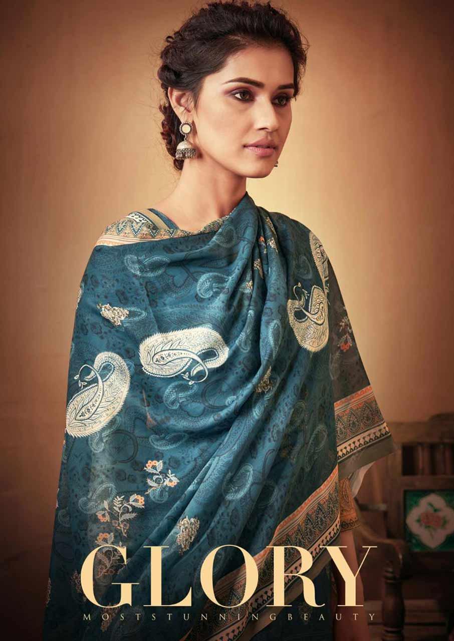 Glory Wholesale Pashmina Salwar Kameez