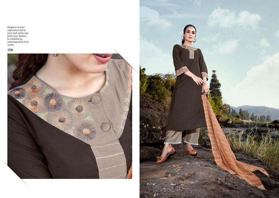 Innayat Viscose Cotton Lining Salwar Suits Set
