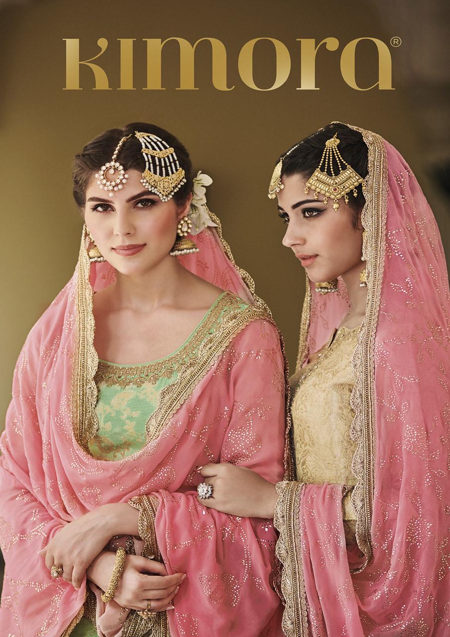 Kimora Designer Kimora-4 Dola Silk Salwar Kameez