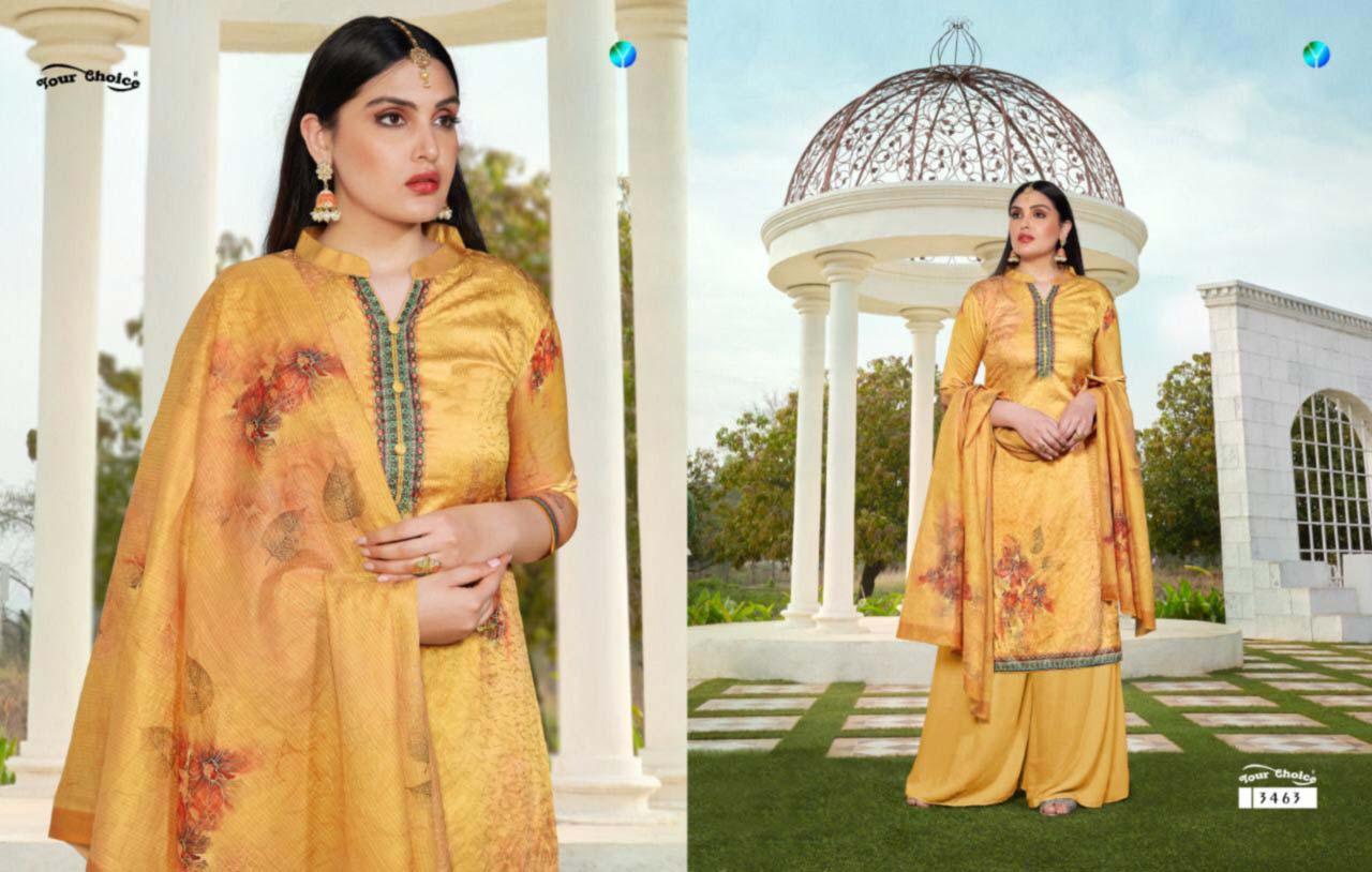 Mahnoor Silk Cotton Wholesale Salwar Suit