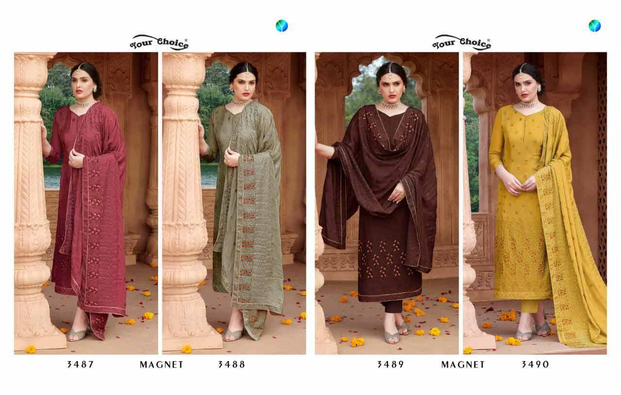 Magnet Wholesale Chion Salwar Sutis Catalogue