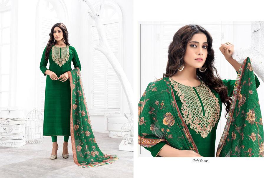 Nasha Linen Dolla Silk Salwar Suits Collection