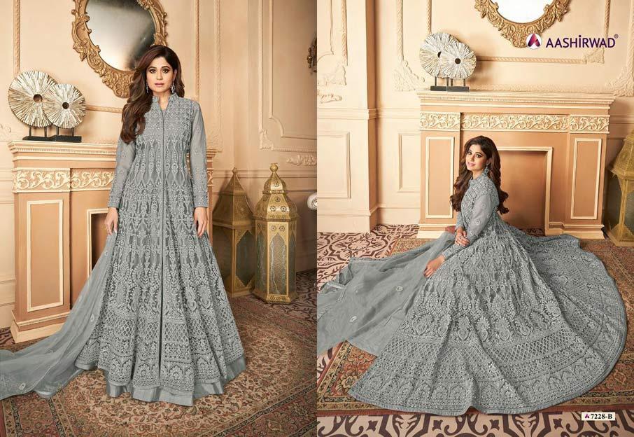 Navika Net Salwar Suits Catalogue Set