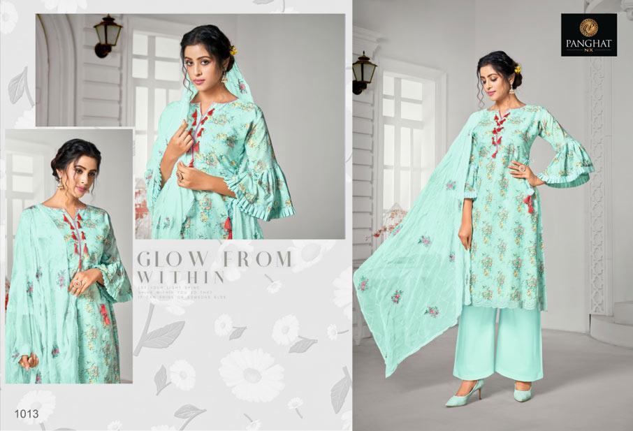 Nazakat Jam Cotton Dupatta Salwar Suits
