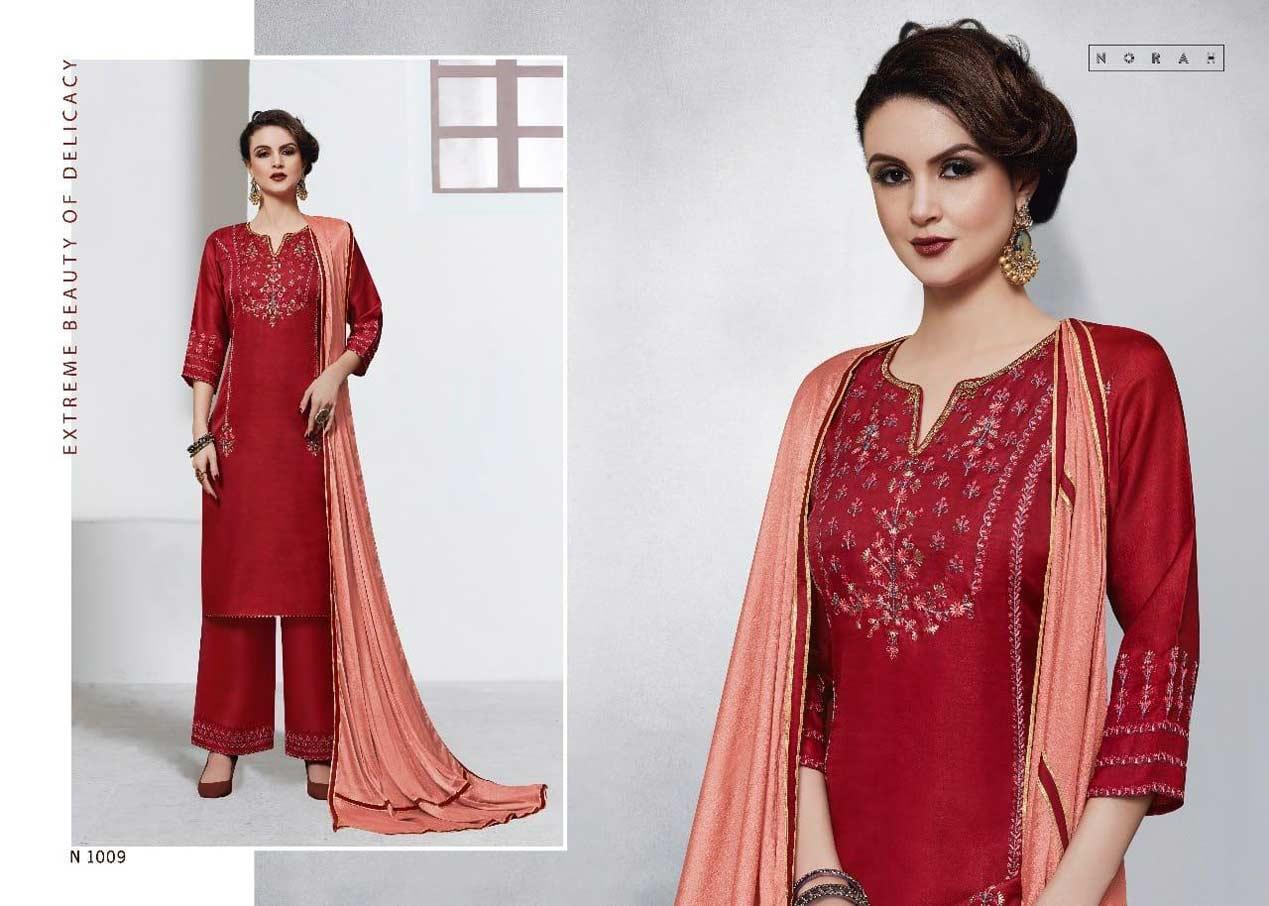 N4U Netra Silk Cotton Readymade Kurti