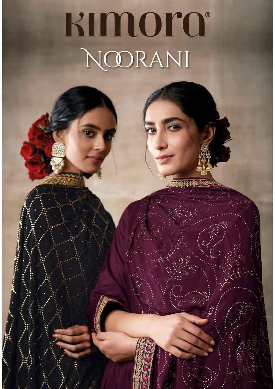 Noorani Chiffon Dupatta Salwar Suits Garment
