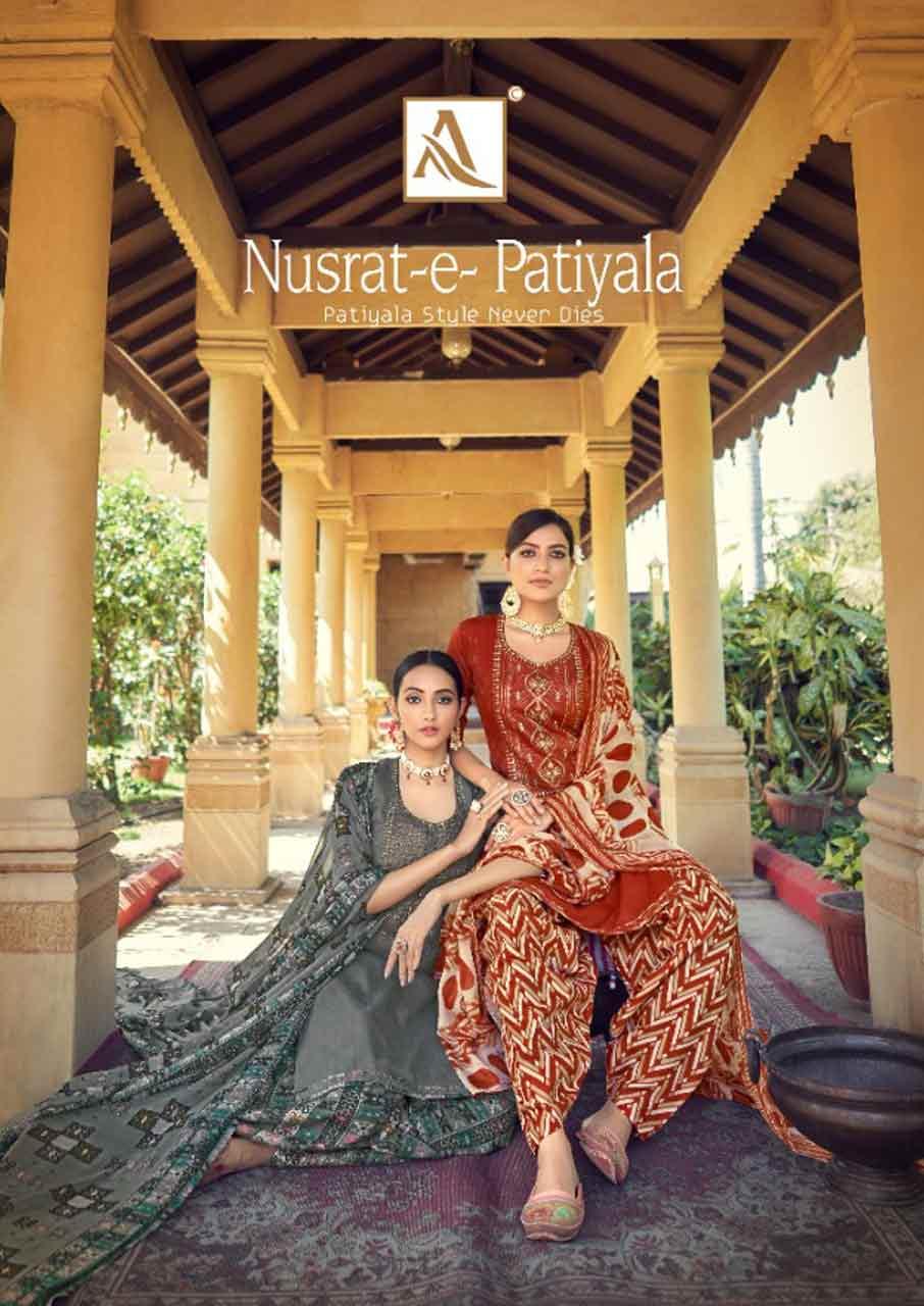 Nusrat-E-Patiala Digital Printed Suits Collection