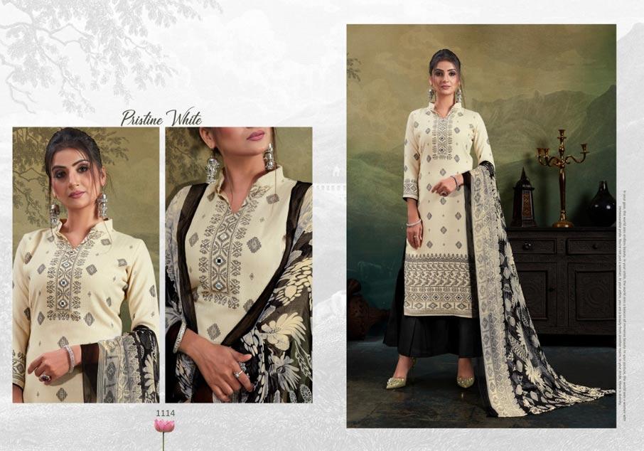 Ragini Pashmina Salwar Suits Set Wholeseller