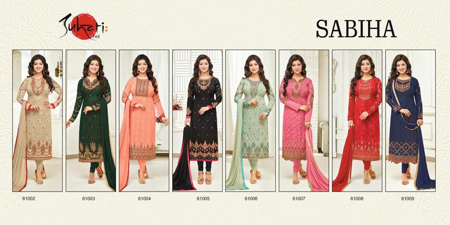 Sabiha Georgette Salwar Kameez Design by Suhati Fab