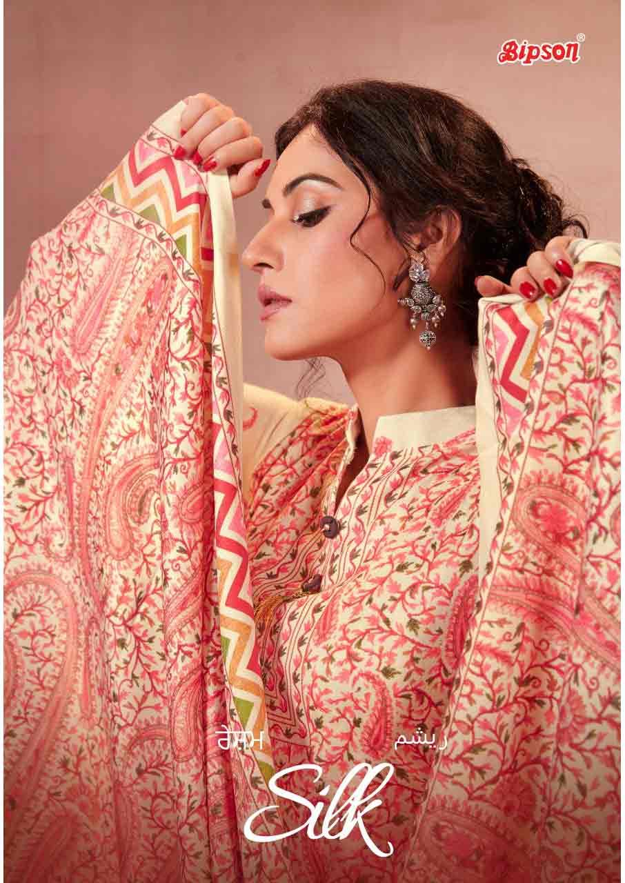 Silk-01 pashmina Salwar Suits Set Manufacturer