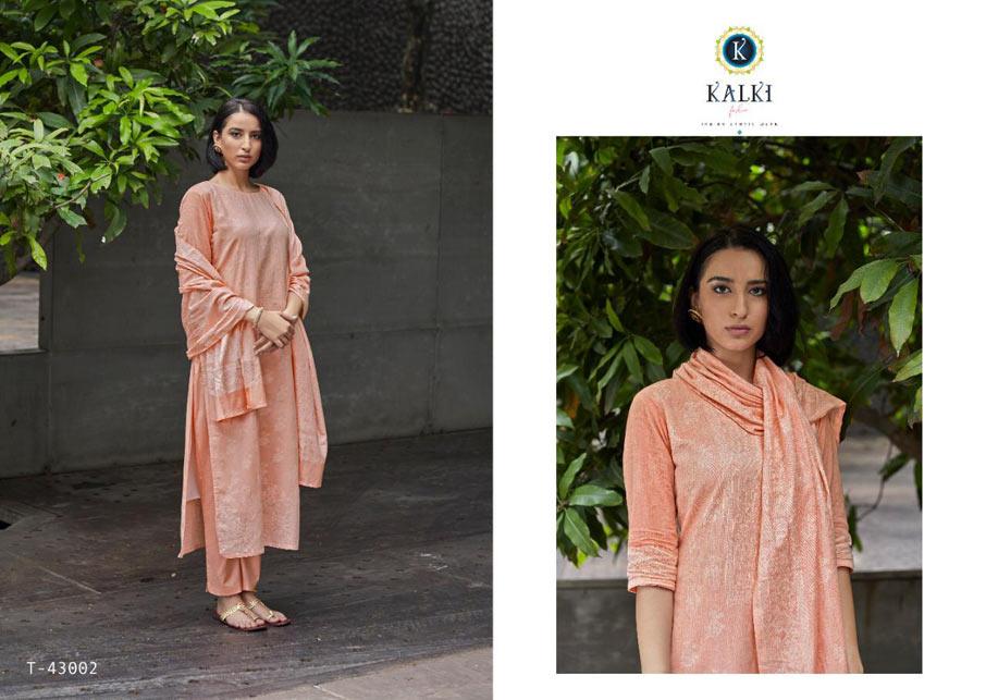 Silver Cotton Silk Salwar Suits Catalogue Set