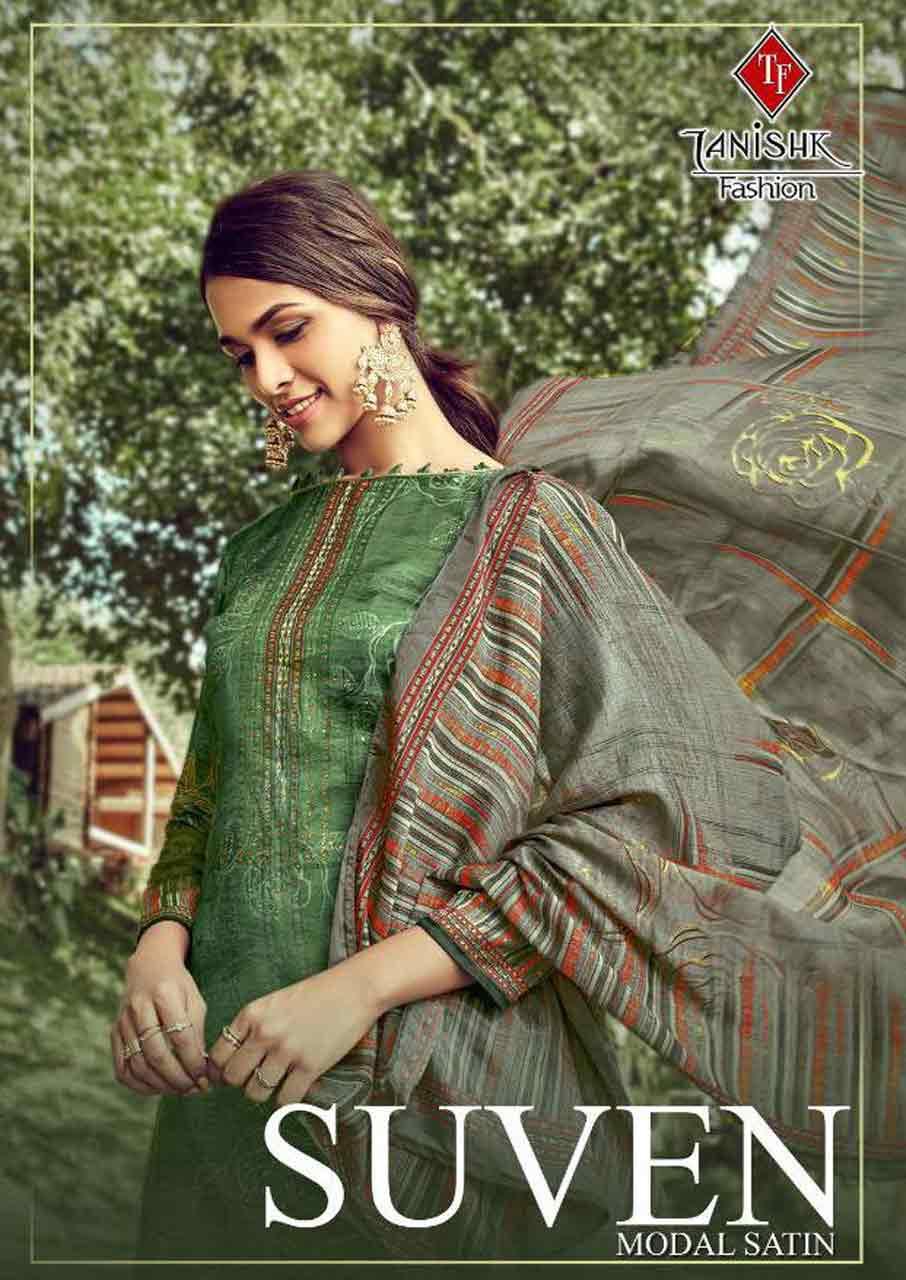 Suven Silk Santoon Bottom Salwar Kameez