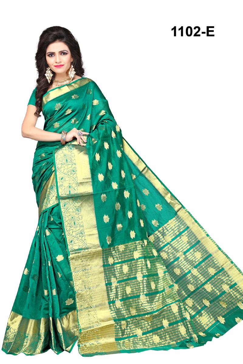 Banarasi Silk Shri Rana Creation Designer Saree