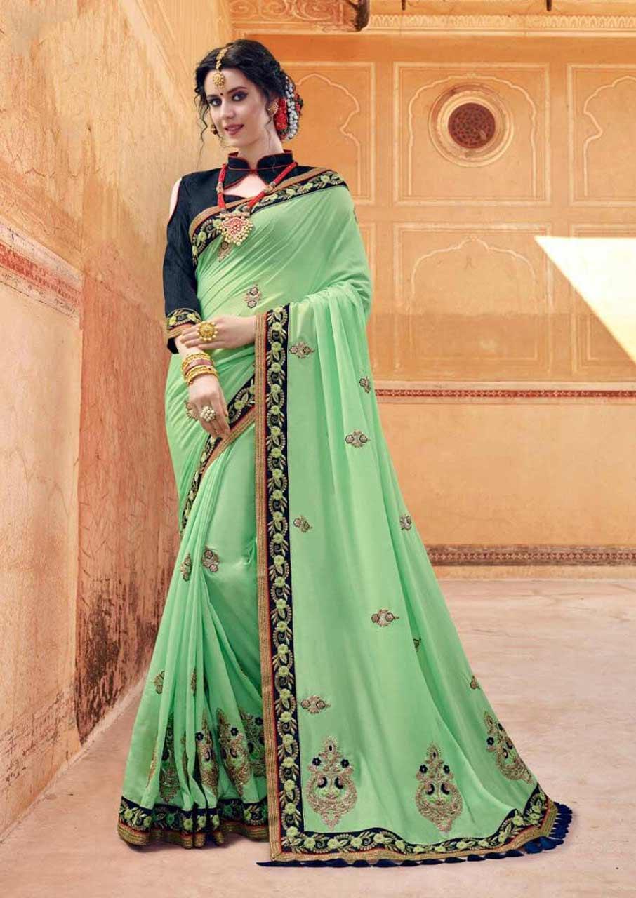 Vinay Fashion Star Walk Premiere Sparkle Silk Sarees
