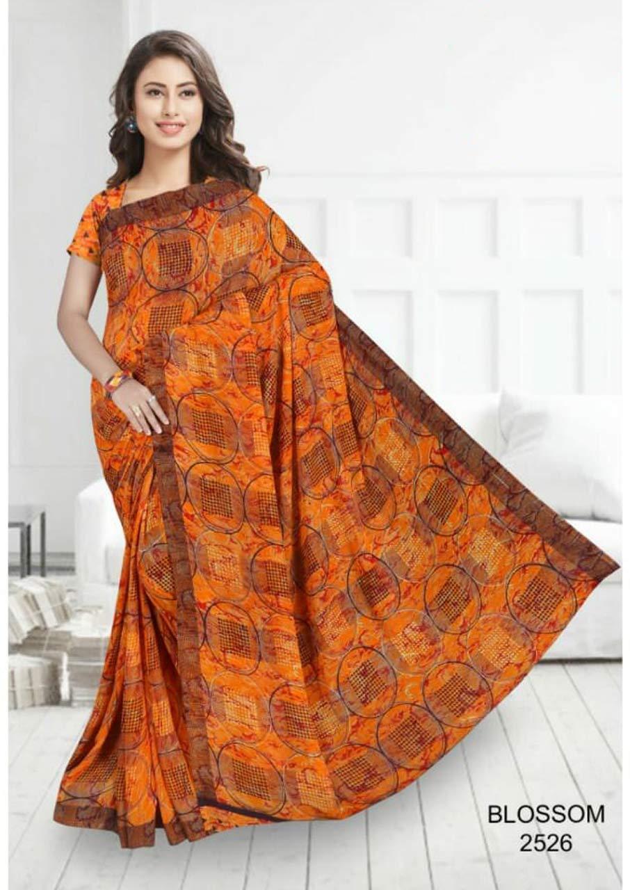 Weightless Mantra Printed Designer Saree Combo