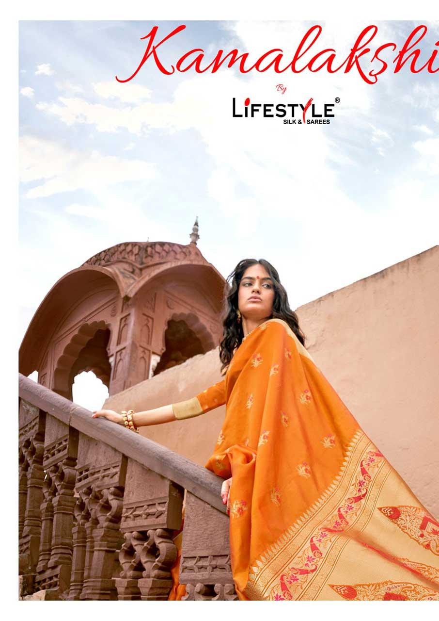 Kamalakshi Designer Sarees Catalogue Set