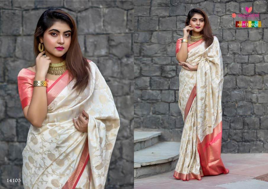 Varsiddhi Mintorsi Manikarnika Banarasi Silk Saree