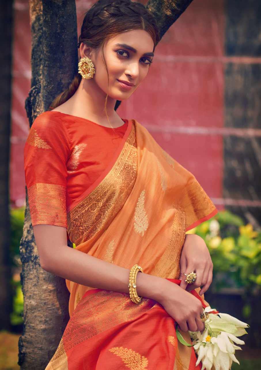 Neem Zari Cotton sarees Catalogue Set