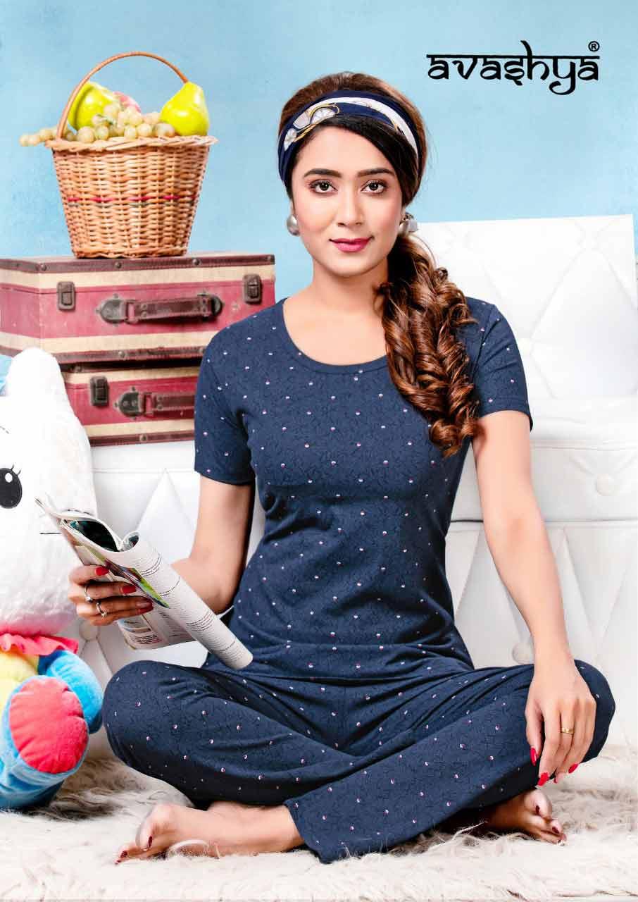 Avashya Premium Wholesale Cotton Night Wear