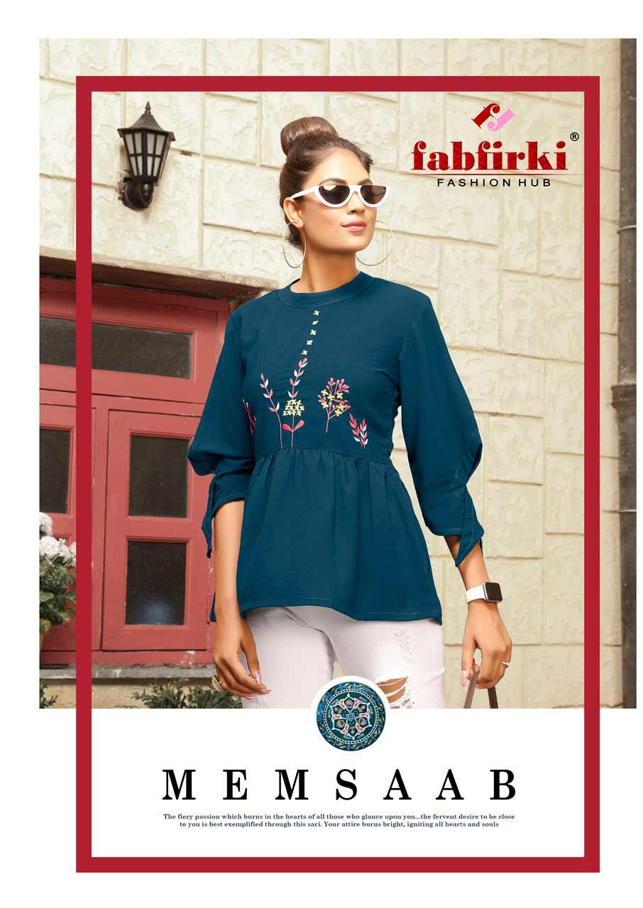 MemSaab FabFirki Fancy Designer Tops Manufacturer