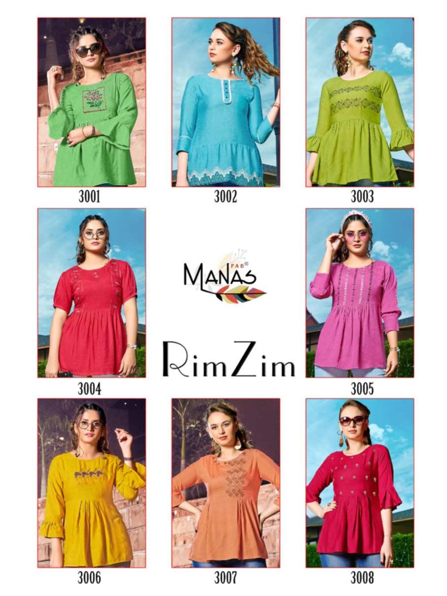 RimZim Milnaz Viscose Wholesale Tops