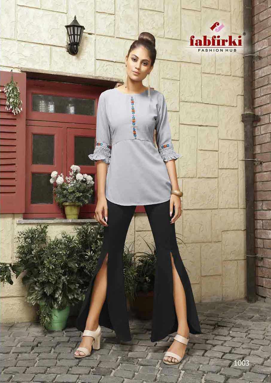 Western Wear Fancy Fabric Ladies Tops
