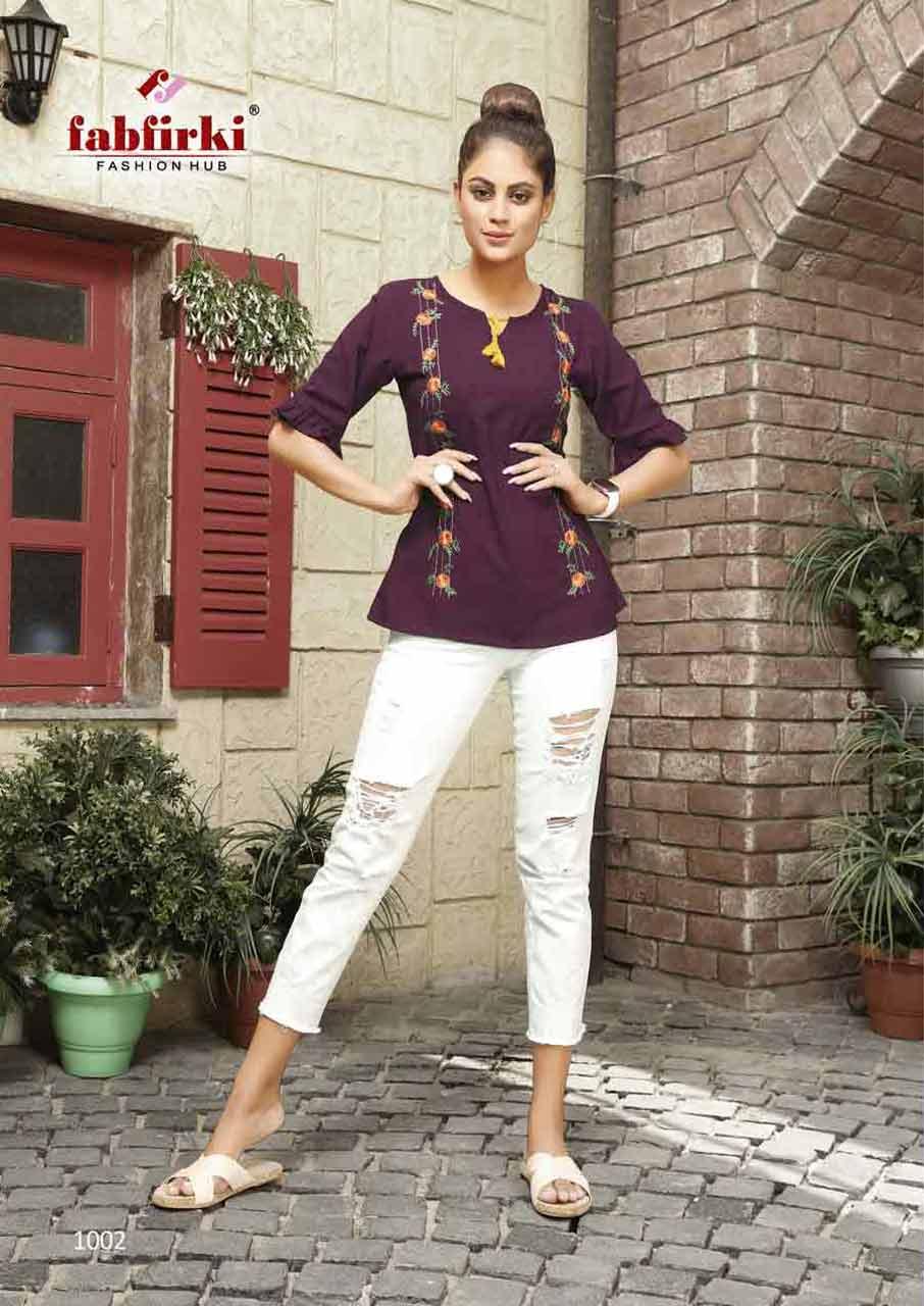 Fabfirki Girls Wear Top Manufacturer Suppliers